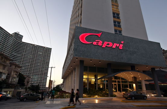 Resultado de imagen para lujo en el HOTEL capri EN LA HABANA