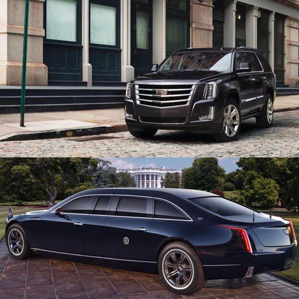 El Cadillac Escalade sirvió de inspiración para la nueva limusina de líneas más estilizadas