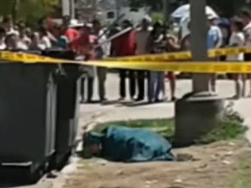 Hombre asesinado en una calle cubana