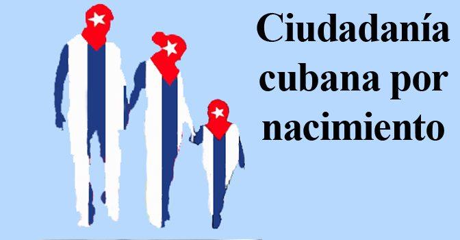 Resultado de imagen para CIUDADANIA CUBANA